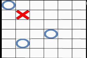 Screenshot of TicTacToe game 2012 HD
