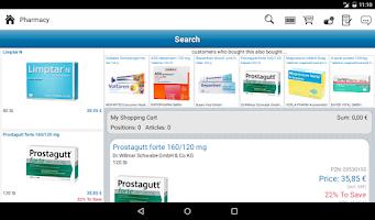 Screenshot of Pharmacy
