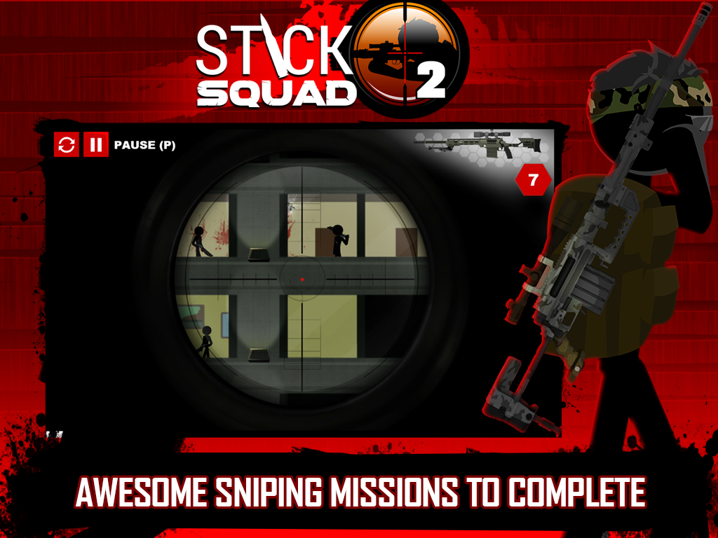 Stick Squad 2 - Shooting Elite Screenshot 13