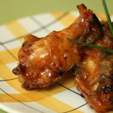 Krista's Sticky Honey Garlic Wings