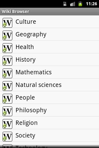 Wiki Browser