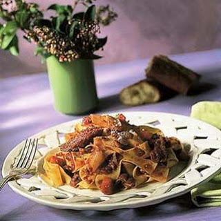 Pappardelle with Red Wine-Stewed Duck