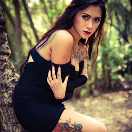 Tattoo of Winda #002 by Bonny Santoso - People Body Art/Tattoos