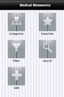 Screenshot of MED MNEMONICS Pro