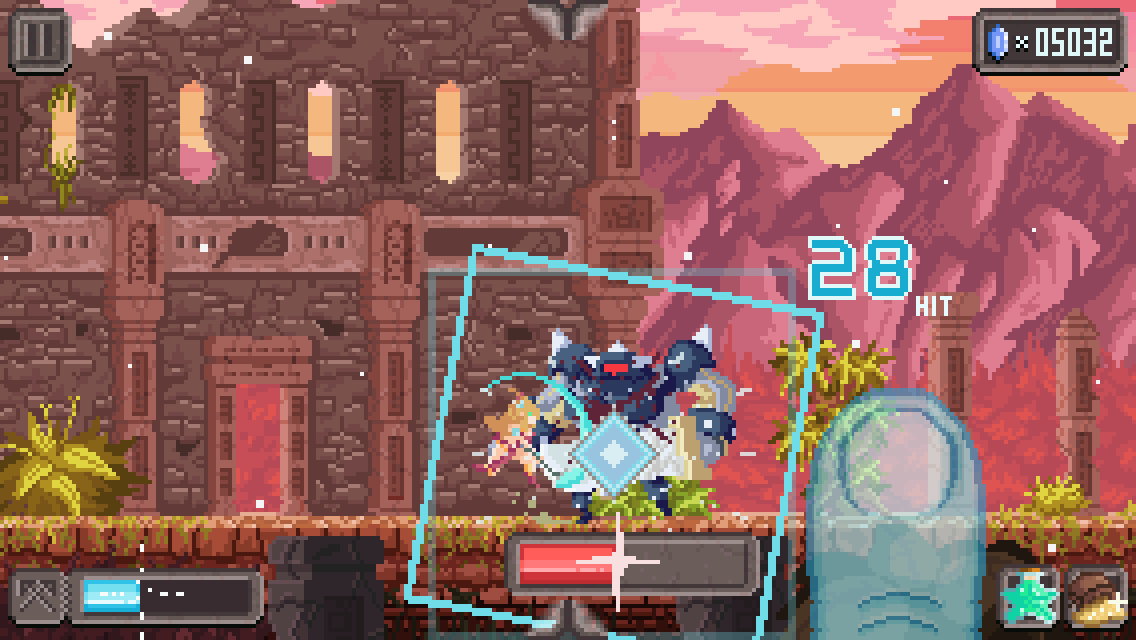 Combo Queen - Action RPG Screenshot 1