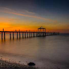 I don't wanna miss a thing by Jee Cornelius - Landscapes Beaches ( sky, afternoon, indonesia, sunset, manado, beach )