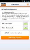 Screenshot of Umzug: Immobilien Scout24