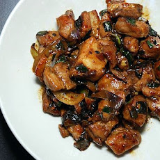Southwest Pork in Black Bean Sauce