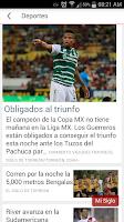 Screenshot of El Siglo de Torreón