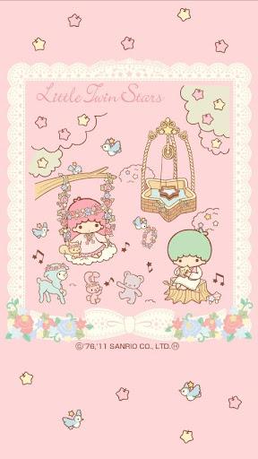 キキ&ララ ライブ壁紙 TS4