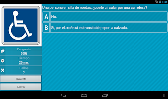 Screenshot of Autoescuela : Coche Lite