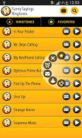 Screenshot of Funny Sayings Ringtones