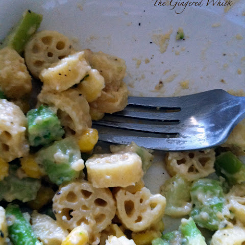Pasta Cartwheels with Cheese and Broccoli