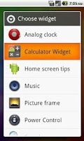 Screenshot of Calculator Widget Lite