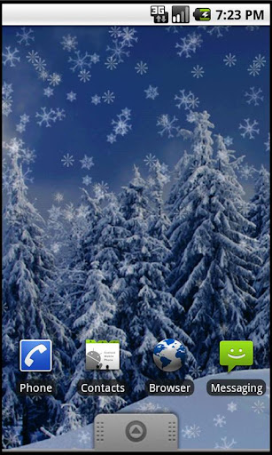 Holiday Snow Live Wallpaper LT
