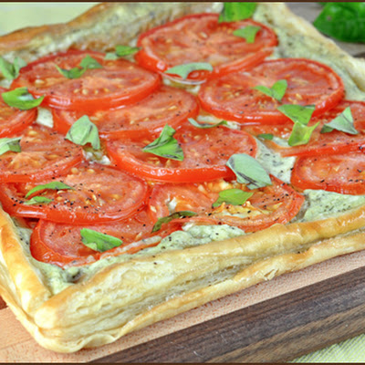 Tomato and Basil Tart