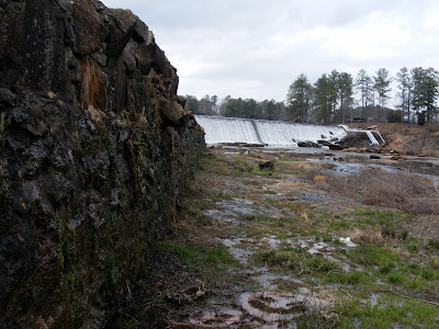The Dam near the Old Mill