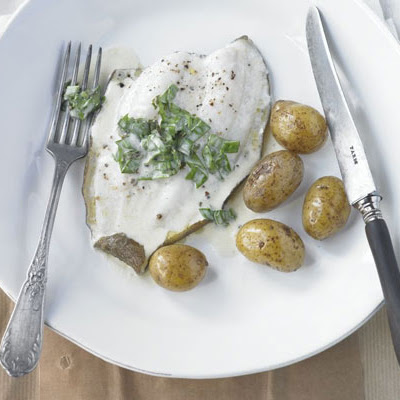 Lemon Sole With Sorrel Sauce
