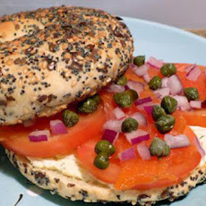 Bagels With Smoked Salmon (Ww)