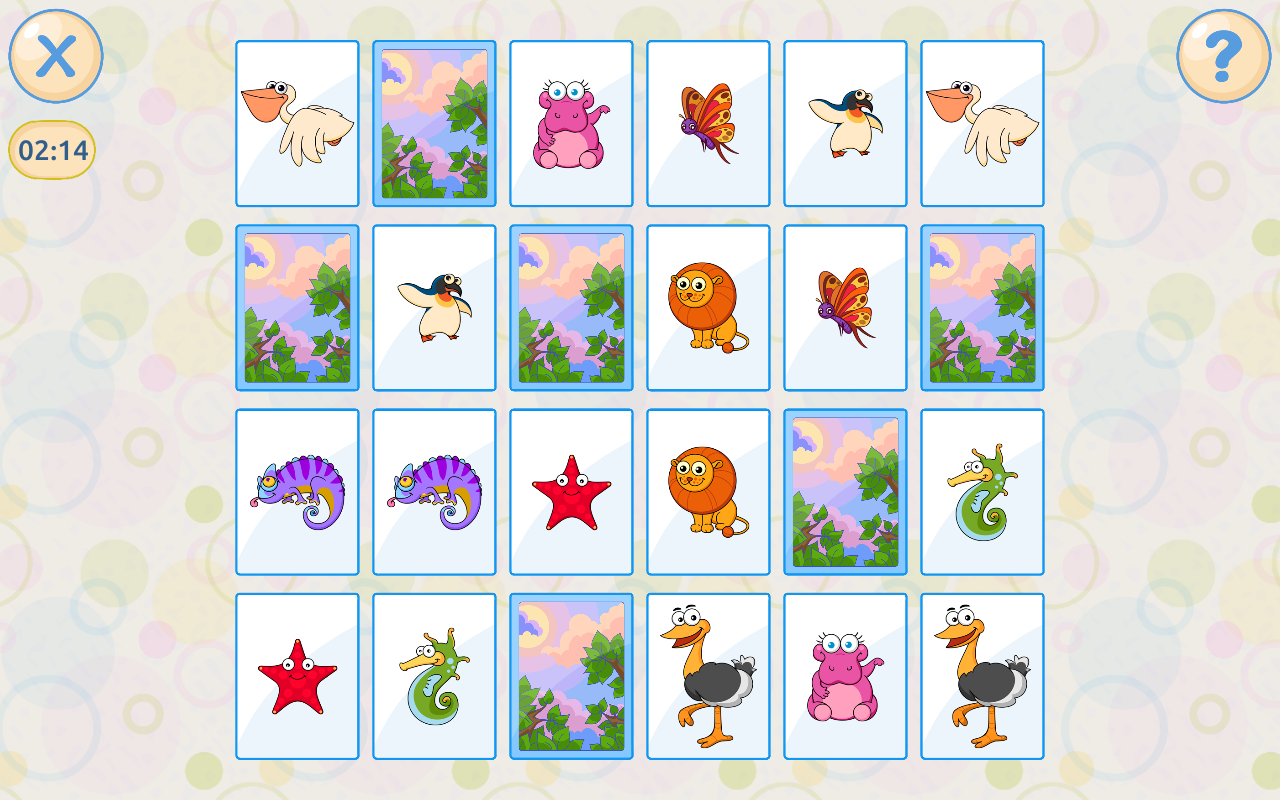 Memory games for kids 4 years Screenshot 15