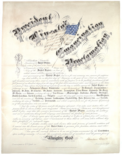 Announced on September 22, 1862, and formally issued on January 1, 1863, the Emancipation Proclamation was a carefully crafted document in which Lincoln, as commander in chief, implemented emancipation as a military act against the states in rebellion.