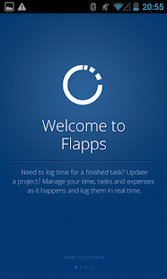 Flapps Time Tracking - screenshot
