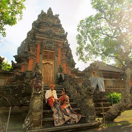by Achem Kw - Wedding Other ( bali wedding dressing, ubud, bali pre wedding, traditional bali, bali wedding )