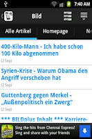 Screenshot of Deutschland News HD