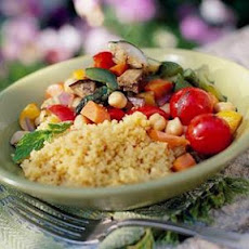 Spicy Grilled Vegetable Couscous
