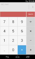 Screenshot of Calculator Light Theme