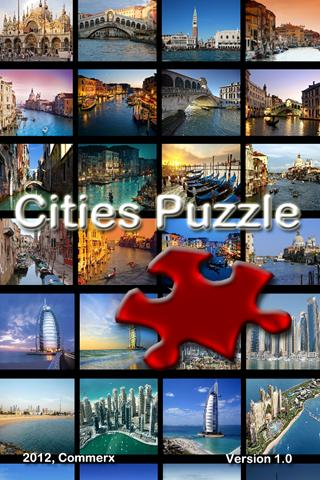 Cities Puzzle