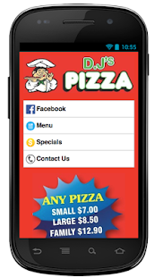 DJ's Pizza - screenshot
