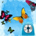GO Locker Theme Butterfly Blue