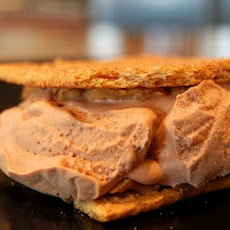 Peanut Butter Chocolate Ice Cream Sandwiches