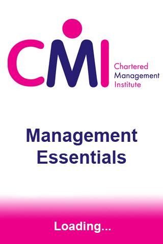 CMI Management Essentials