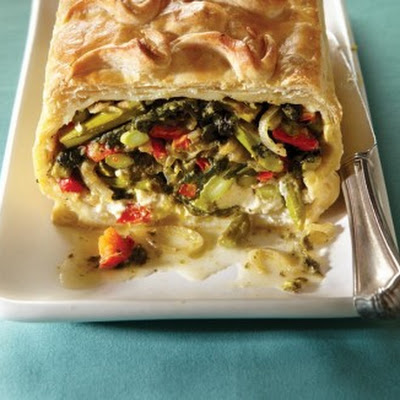 Vegetables Wellington Redux