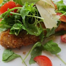 Veal Milanese with Arugula Salad