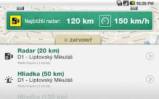 Screenshot of Pozor RADAR!!!