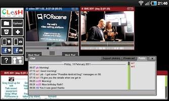 Screenshot of Clesh Video Editor