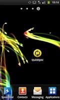 Screenshot of Quick Sync