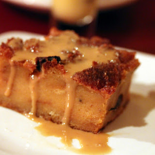 Bread Pudding with Whiskey Vanilla Sauce