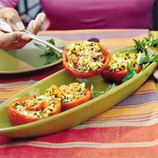 Baked Feta Stuffed Tomatoes Recipes
