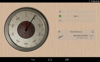 Screenshot of Accurate Altimeter Free