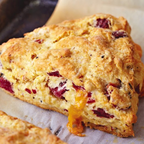 Pastrami And Cheddar Scones