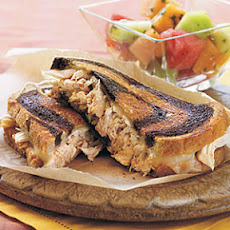 Grilled Chicken Reubens