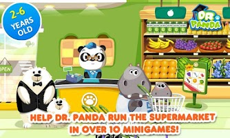 Screenshot of Dr. Panda's Supermarket