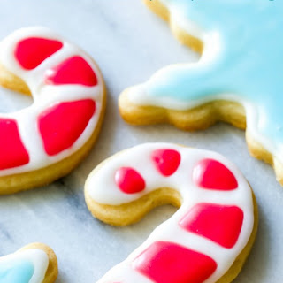 Holiday Cut-Out Sugar Cookies with Easy Icing