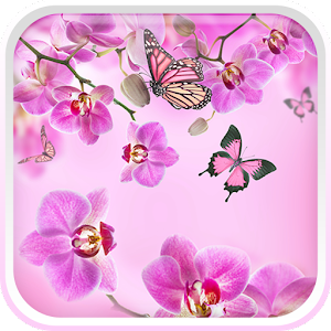 Pink Flowers Live Wallpaper For PC (Windows & MAC)