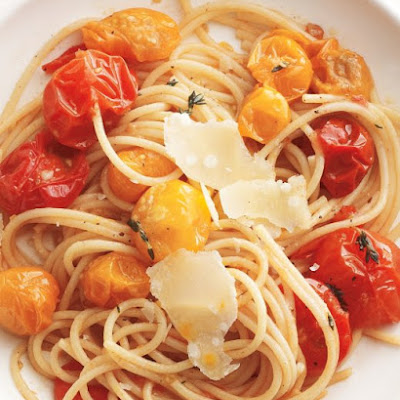 Sauteed Tomato and Herb Pasta