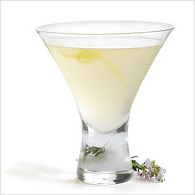 Rosemary Lemon Drop
